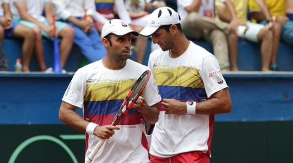 Cabal y Farah le dan el segundo punto a Colombia en Copa Davis