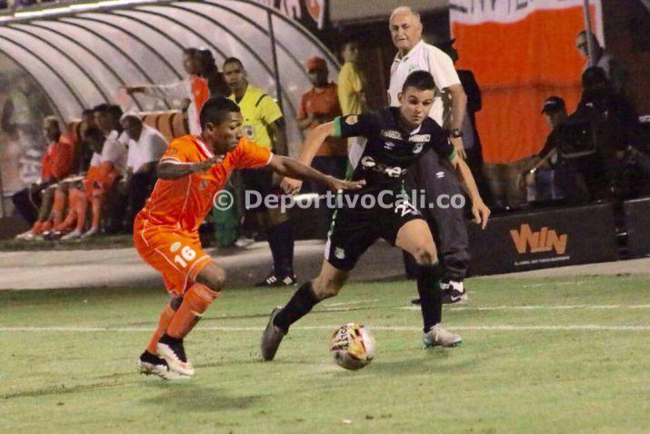 Deportivo Cali rescató un empate en Envigado pero no levanta cabeza
