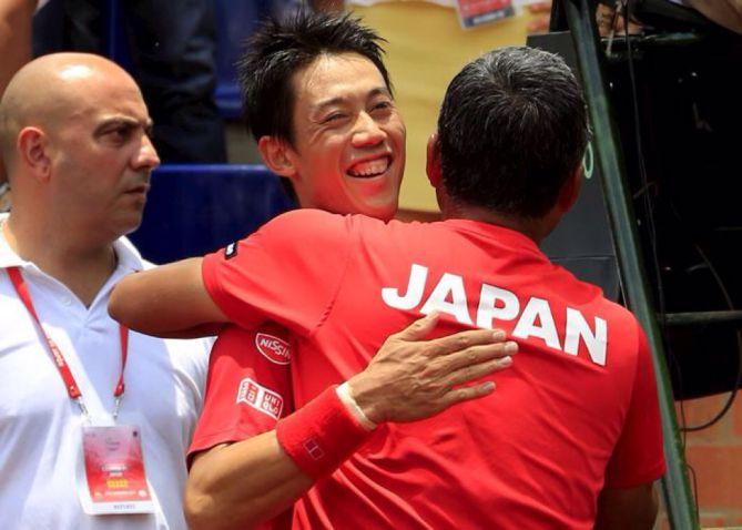Japón remontó la serie y se clasificó al Grupo Mundial de Copa Davis