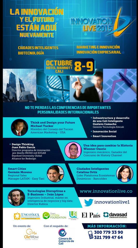 Innovation Live 2015, Ciudades inteligentes y biotecnología