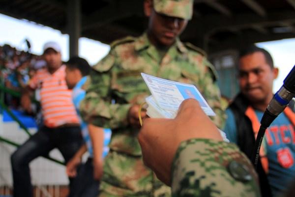 Hay más de 1500 libretas militares sin reclamar en Cali