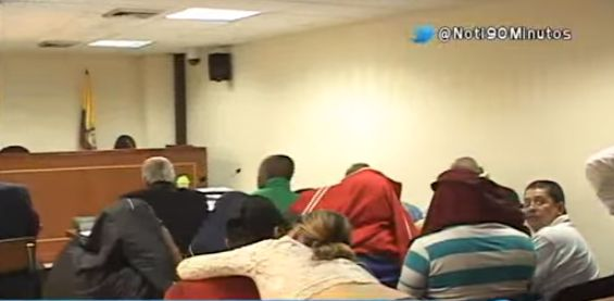 Juez dejó en libertad a las 10 personas sindicadas de hurto a la ILV