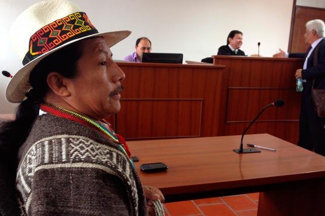 28 años de prisión para líder indígena por retención ilegal de un militar