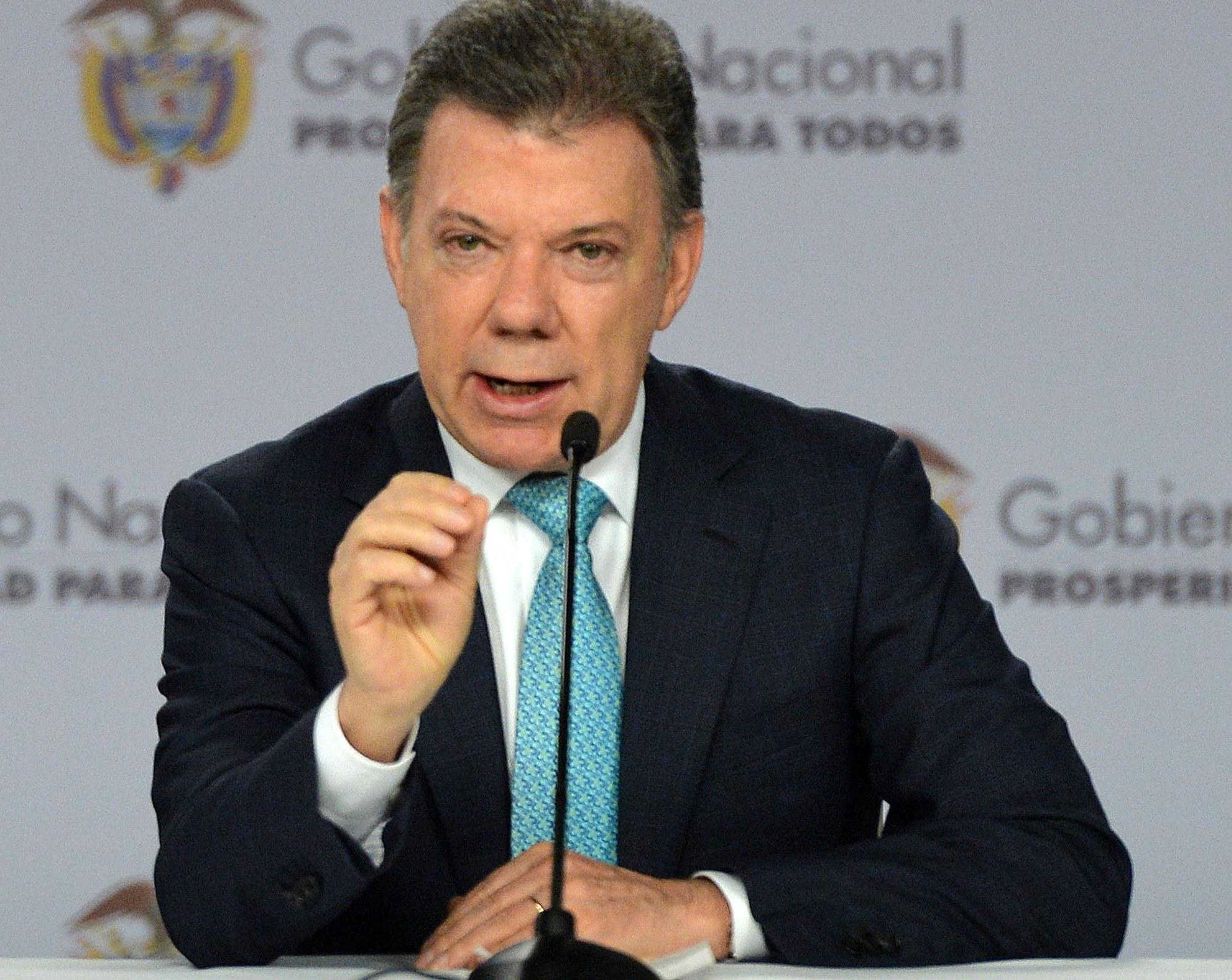 """Santos llegó a La Habana para reunirse con alias """"Timochenko"""""""