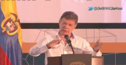 Presidente Santos invita a empresarios a aumentar exportaciones