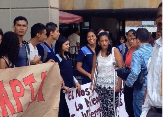 Finalizó bloqueo de estudiantes en la Gobernación del Valle