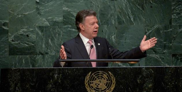 Presidente Santos dio su último discurso en la asamblea de la ONU