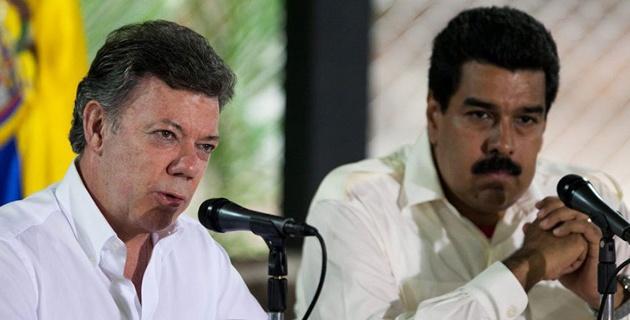 Santos y Maduro ya están en Ecuador para discutir situación en la frontera