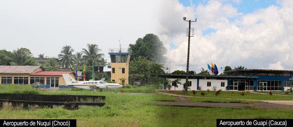 Presentan propuestas para modernizar los aeropuertos de Nuquí y Guapi