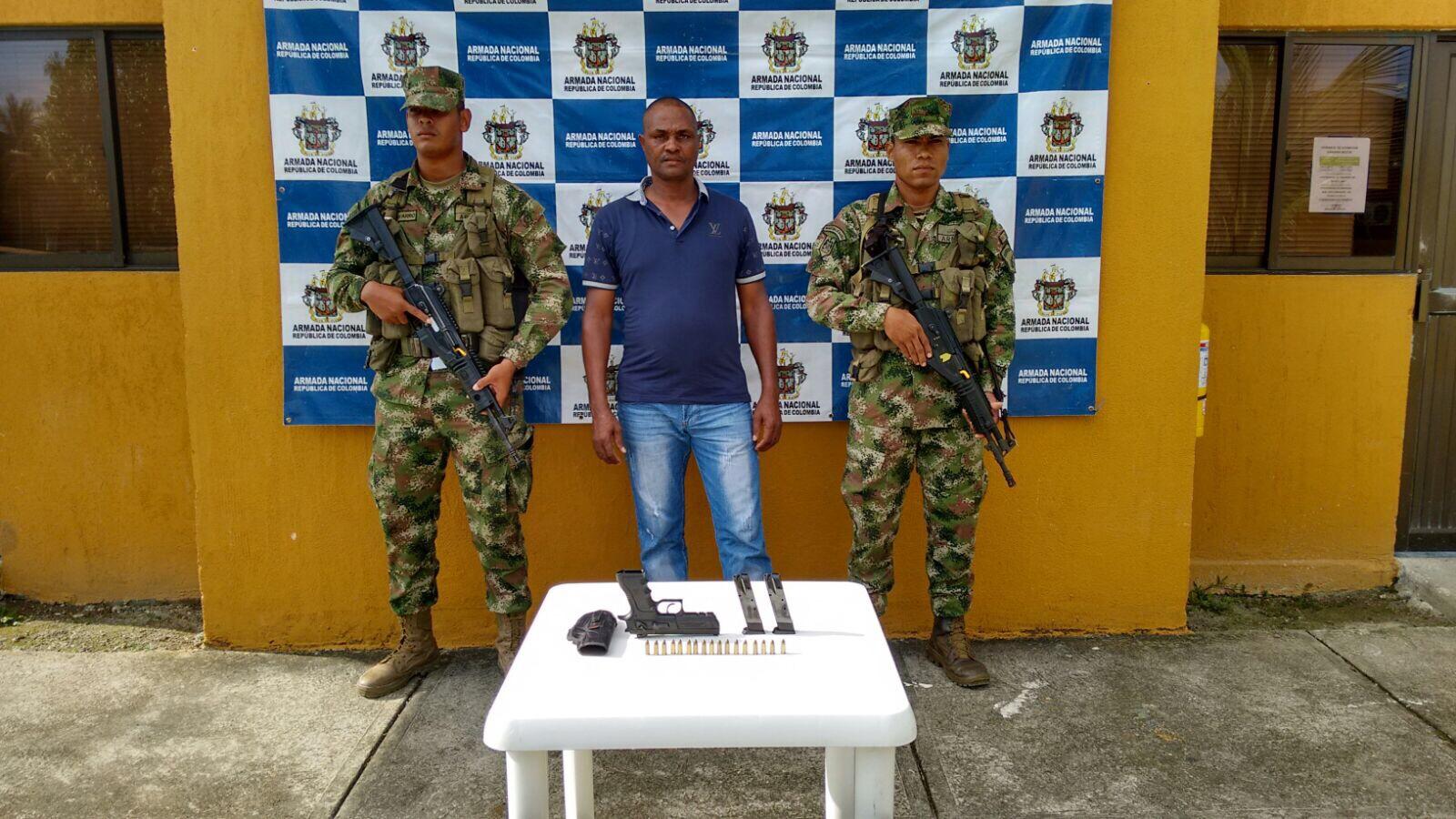 Armada Nacional da duro golpe minería ilegal en Guapi, Cauca