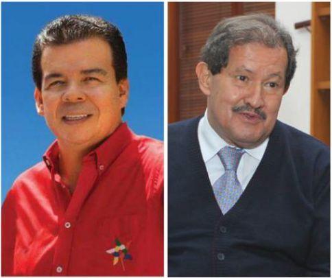 Angelino Garzón y Roberto Ortiz felicitaron al nuevo Alcalde de Cali