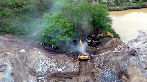 Capturan banda dedicada a minería ilegal en Buenaventura
