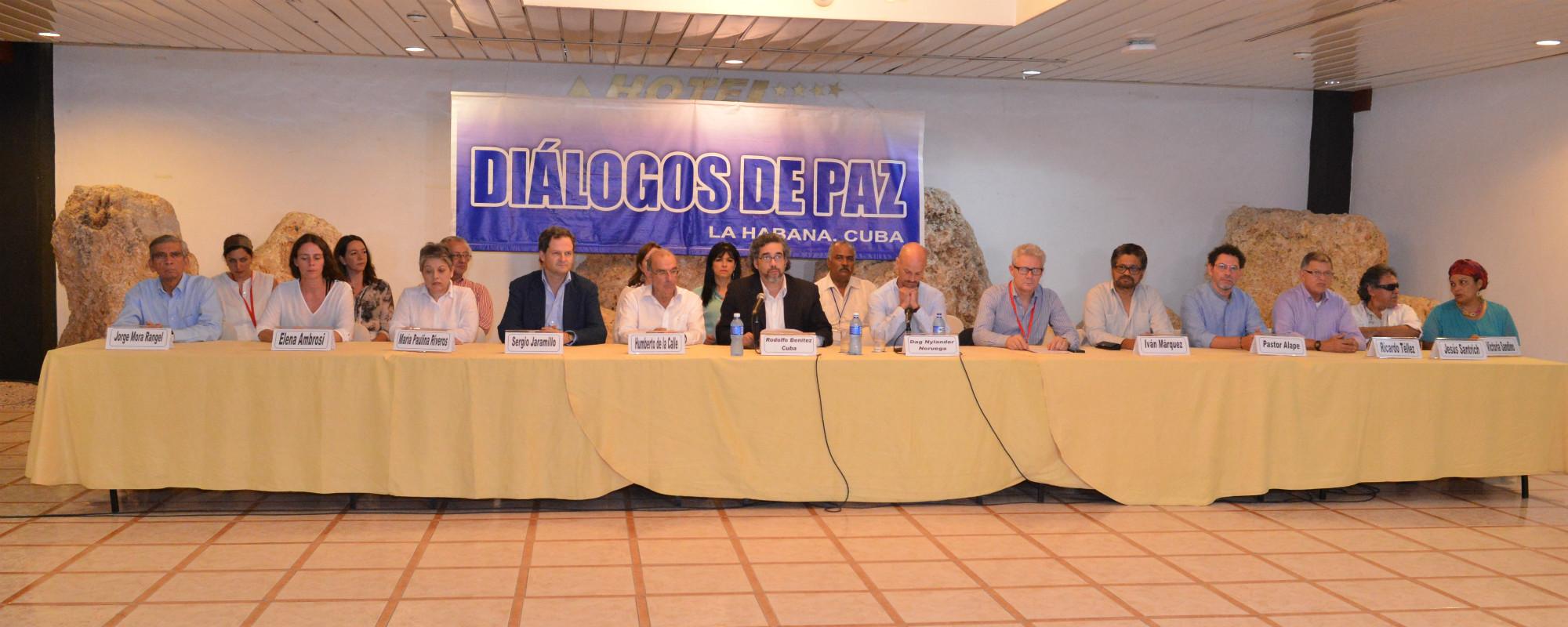 Declaración de gobierno nacional y las FARC sobre los desparecidos