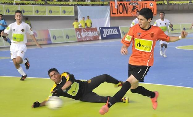 Lyon se clasificó por tercera vez a la final de la Liga Argos Futsal
