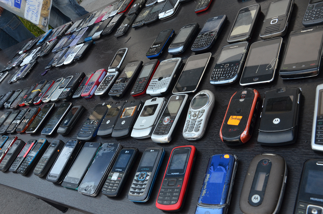 Policía Metropolitana de Cali incautó 768 celulares de dudosa procedencia