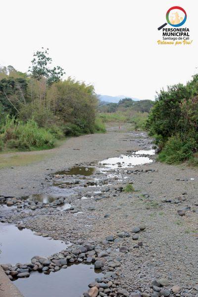 Personería de Cali hizo recorrido en los ríos secos