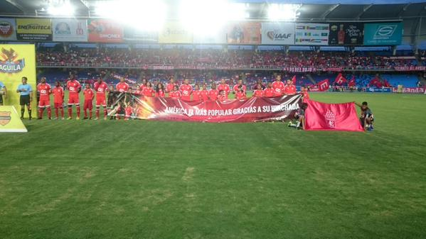 América sufrió pero venció 2-1 a Llaneros en el Pascual Guerrero