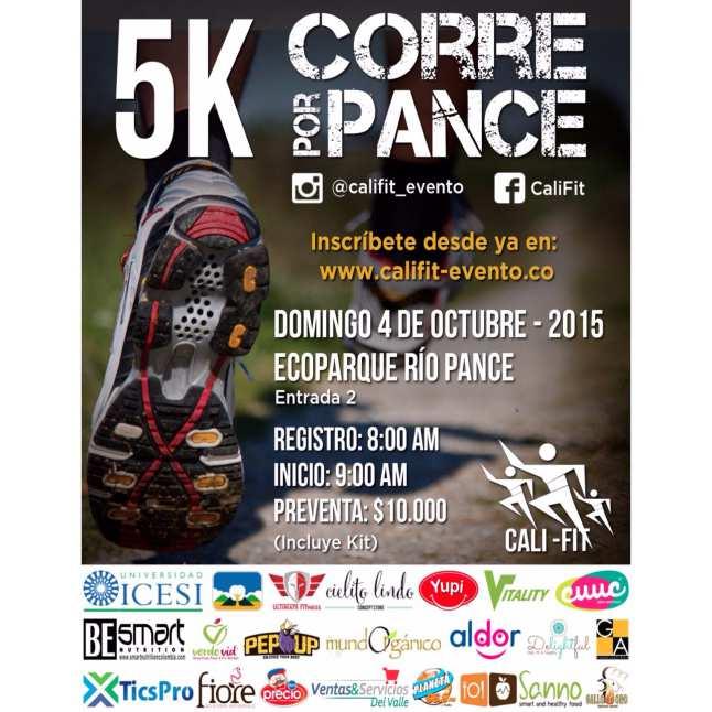 Disfrute el próximo domingo de la carrera 5K 'Corre Por Pance'