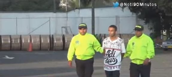 Capturado alias 'Pulgarín' sindicado de atentar contra una patrulla en Tuluá