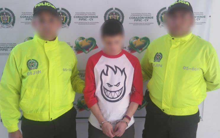 Bajo custodia de las autoridades permanece alias Gemido Ruidoso