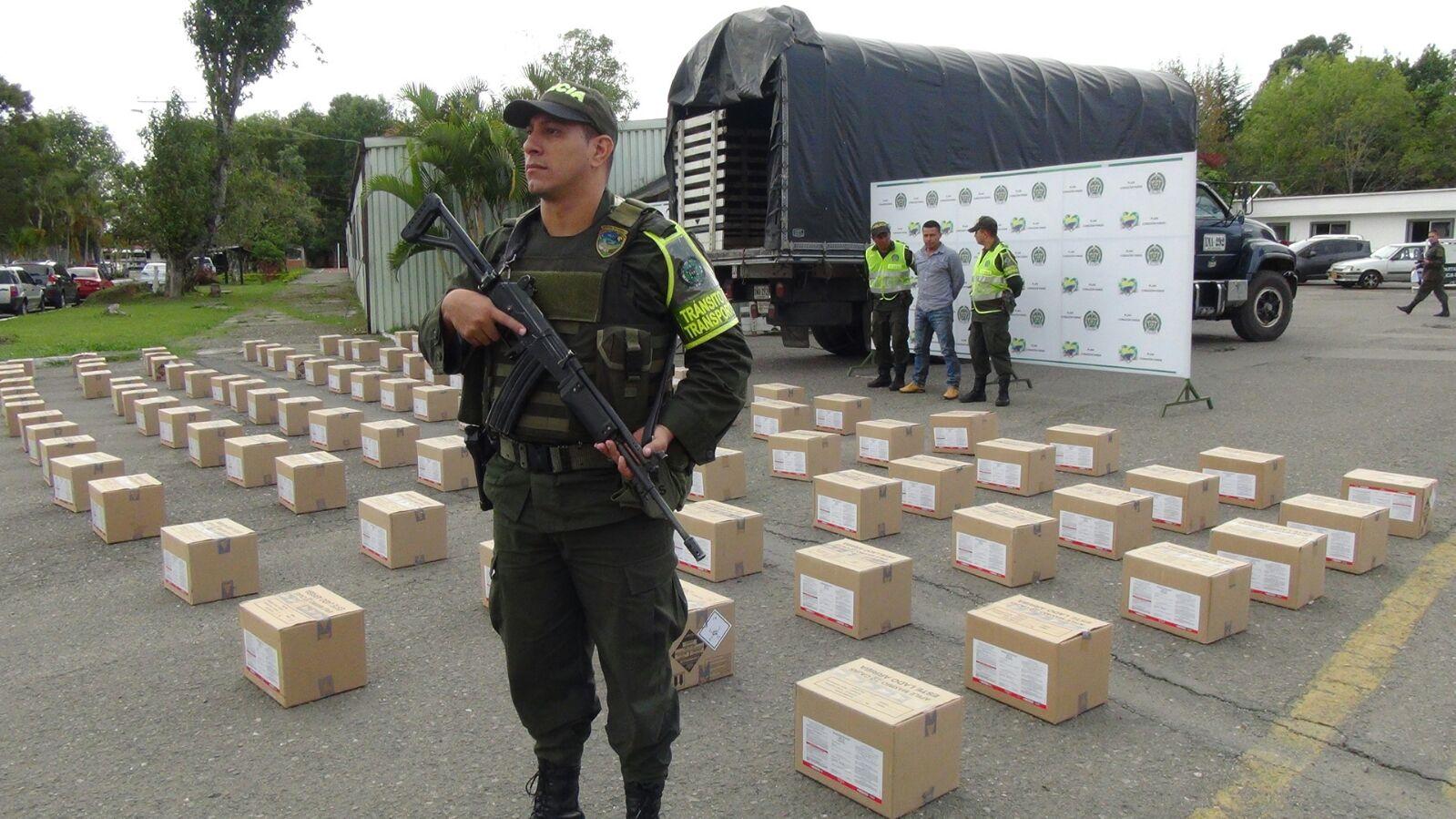 """Policía capturó a un hombre con mercancía robada por """"piratería terrestre"""""""
