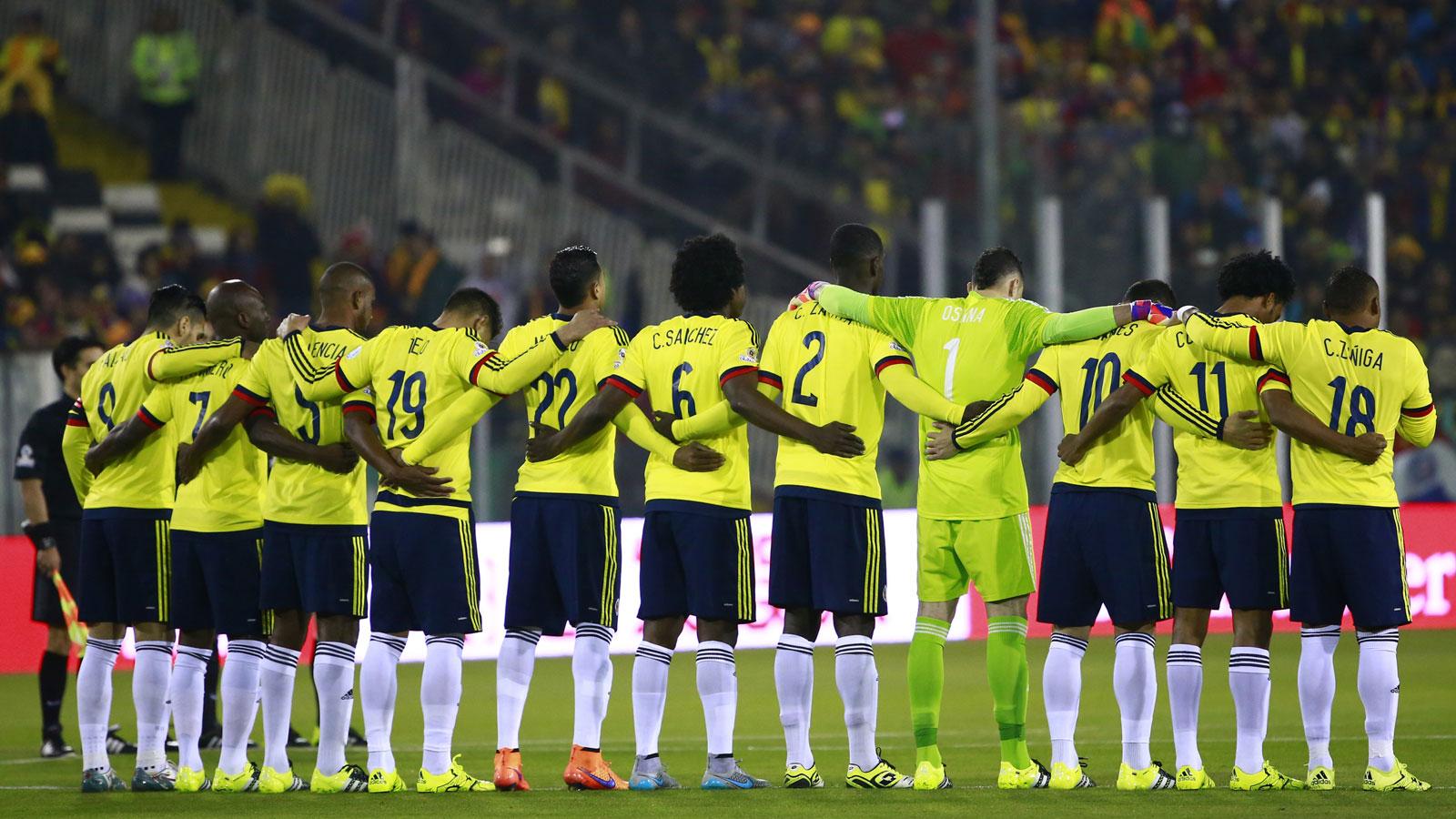 Colombia ya piensa en Uruguay, su segundo rival en eliminatorias