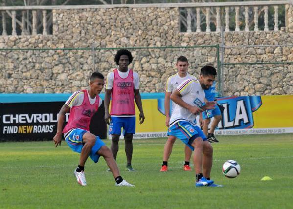 Colombia ya se entrenó en Barranquilla para el inicio de las eliminatorias