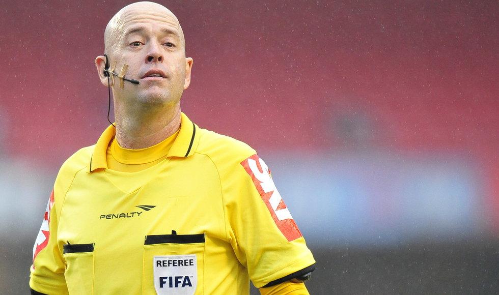 Conmebol confirmó árbitro brasilero para el partido Uruguay-Colombia