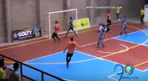 Lyon enfrenta a Real Antioquia en semifinal de la Liga Argos de Futsal