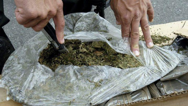 21 kilos de marihuana fueron incautados en la vía Cali-Buenaventura