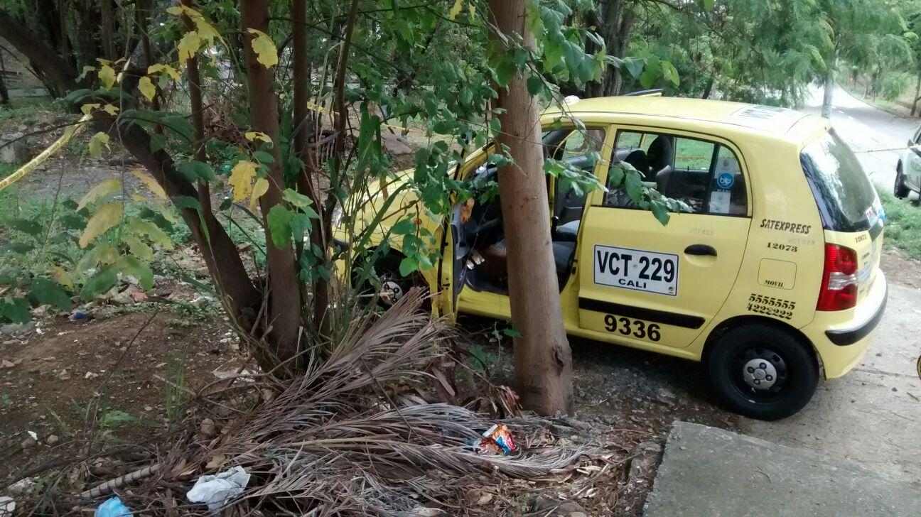 Un taxista fue asesinado sobre la Circunvalar en Cali