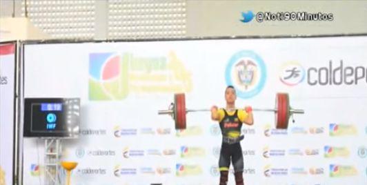 Valle lidera las Pesas con o medallas de oro en Juegos Nacionales