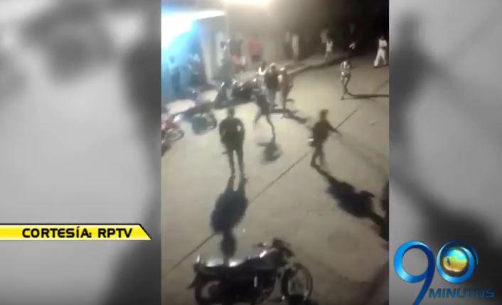 Video: Disturbio en Tumaco tras el cierre de las elecciones regionales