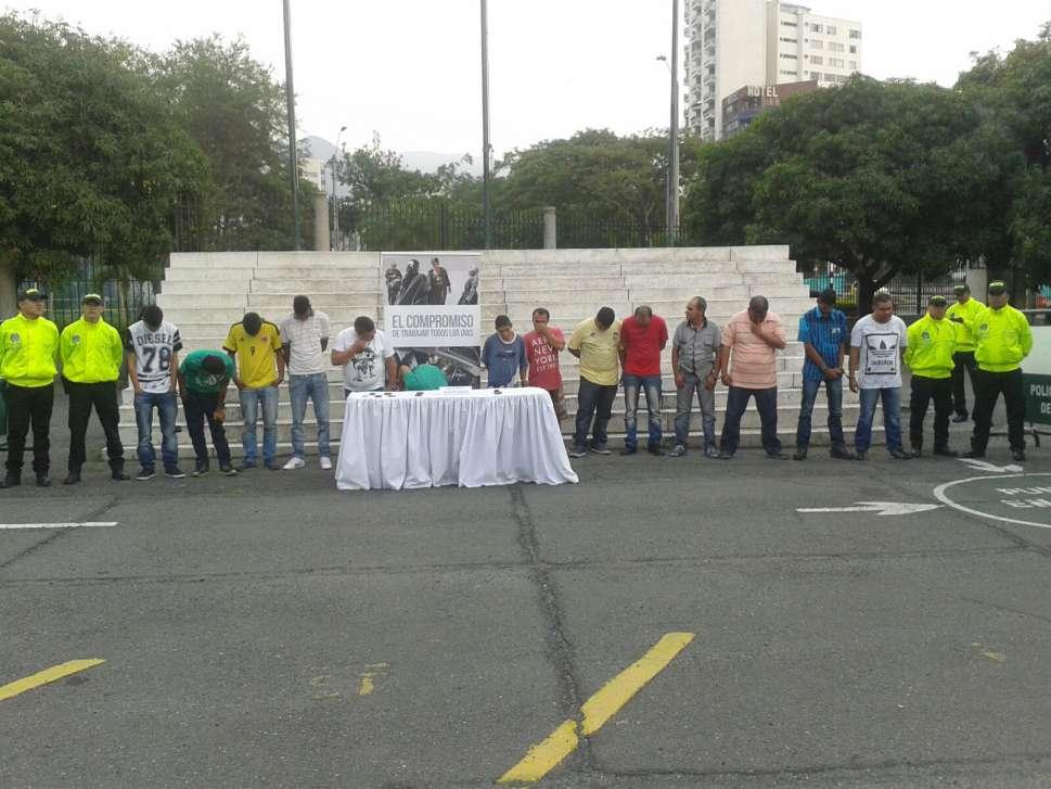 Policía desmantela banda en Riofrío al servicio del 'clan Úsuga'