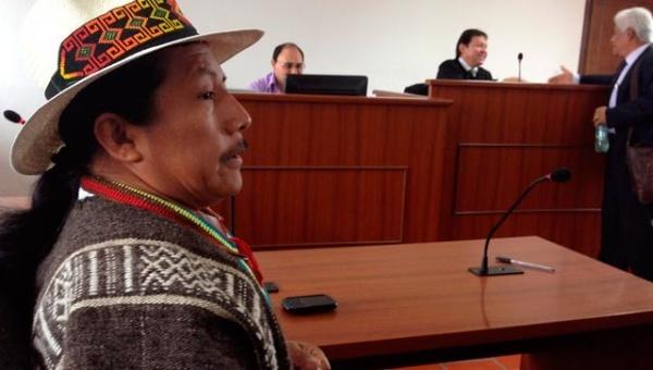 Indígenas denuncian intento de homicidio a Feliciano Valencia