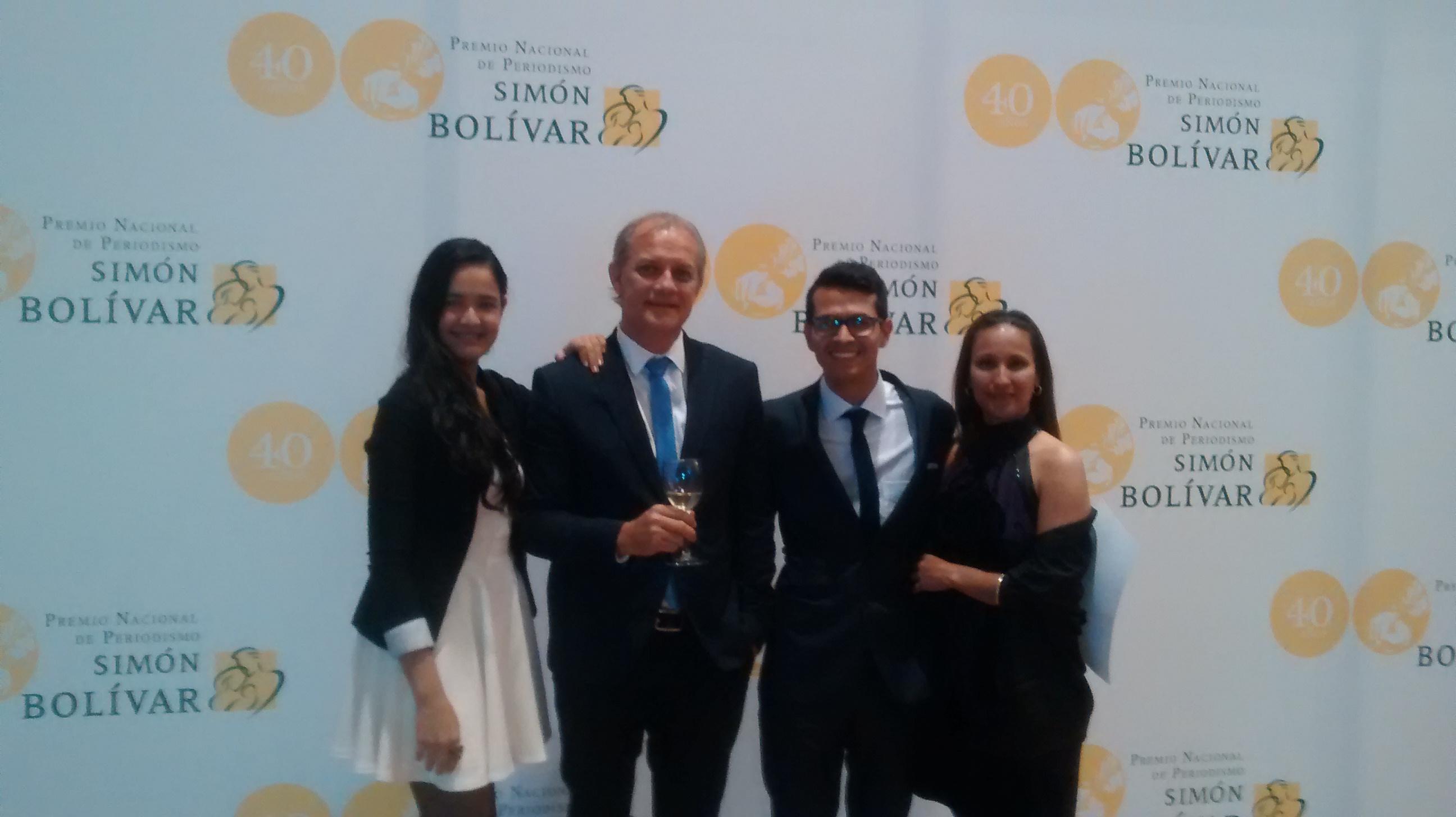 Premio Simón Bolívar para el programa 'Tiempo Real, de verdad'