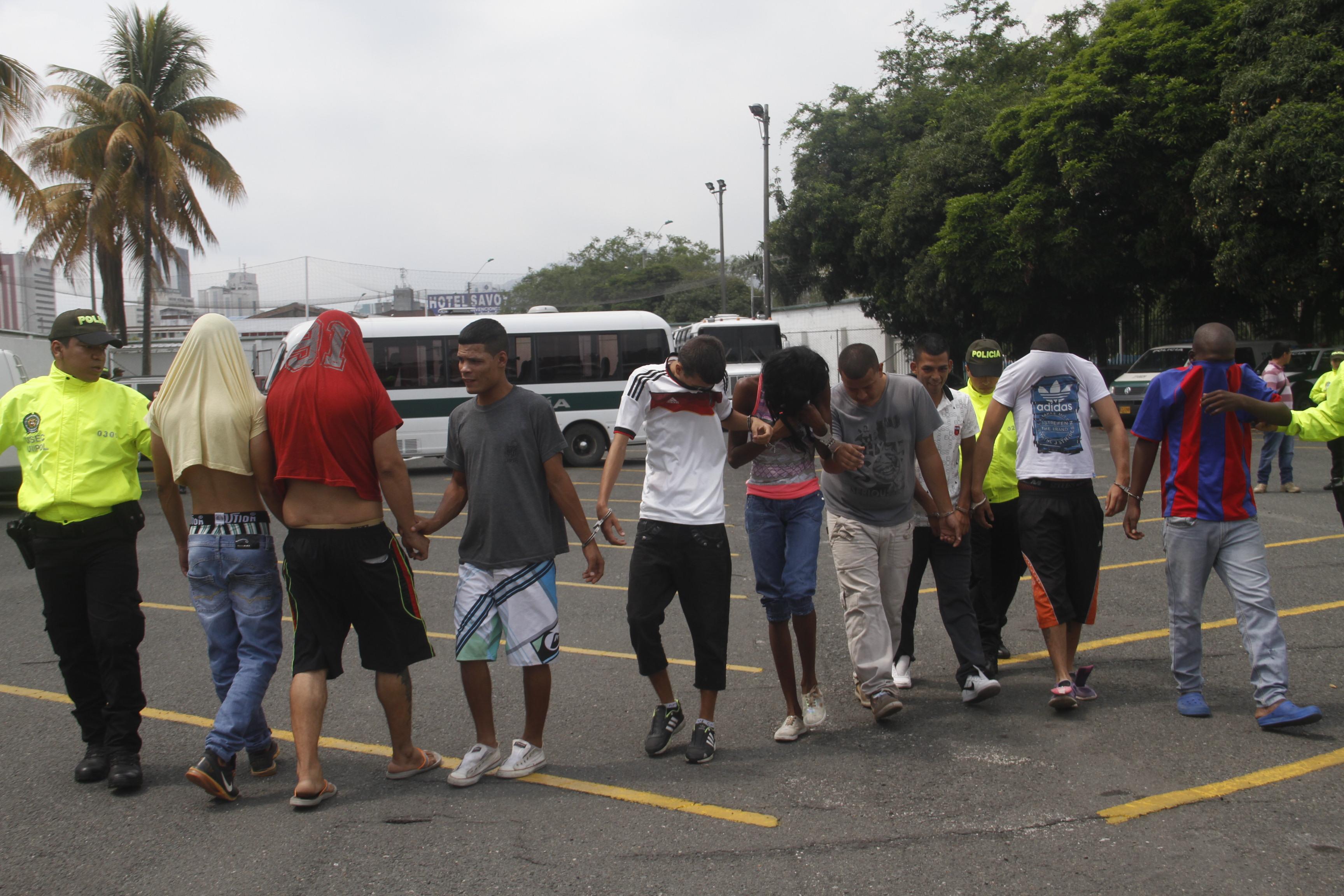 Autoridades desarticulan banda delincuencial 'Los Pimpollos'