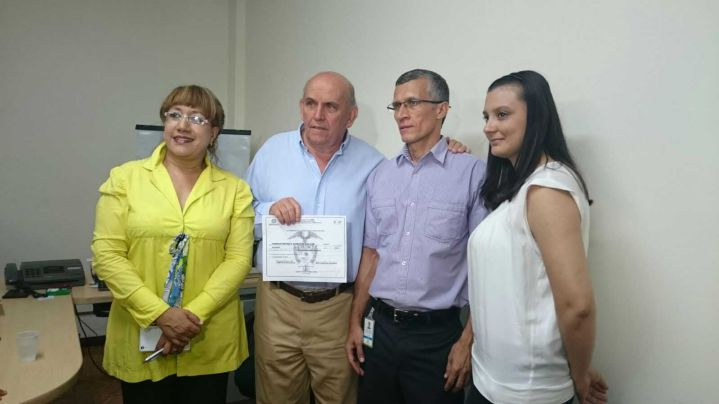 Maurice Armitage recibió la credencial como nuevo Alcalde