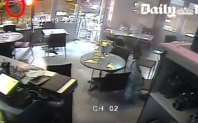Video: así registraron las cámaras el ataque terrorista en París