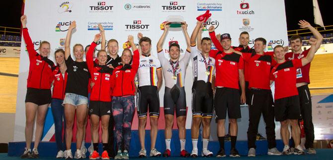 Alemania se quedó con la Copa Mundo de Ciclismo de Pista de Cali