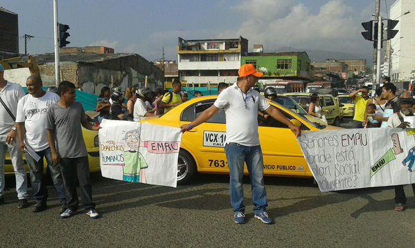 Habitantes del centro protestaron por proyecto Ciudad Paraíso