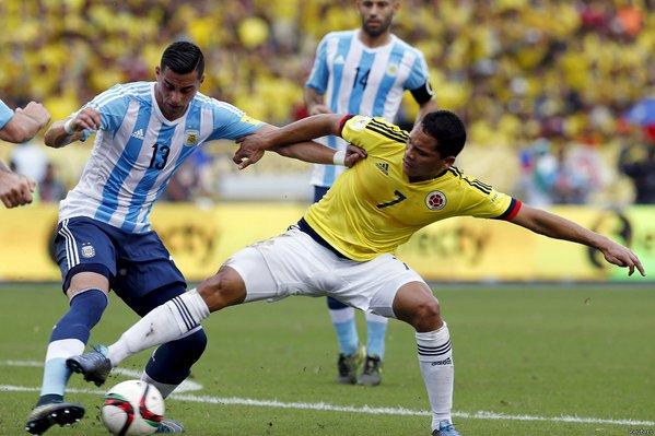 Sin criterio, Colombia perdió en casa frente a Argentina por eliminatorias
