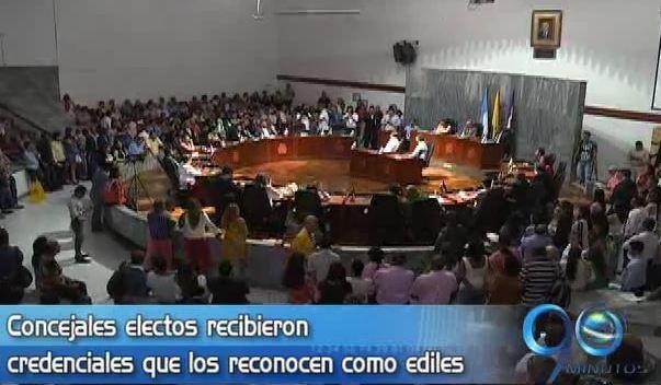 Registraduría entregó credenciales a concejales electos de Cali