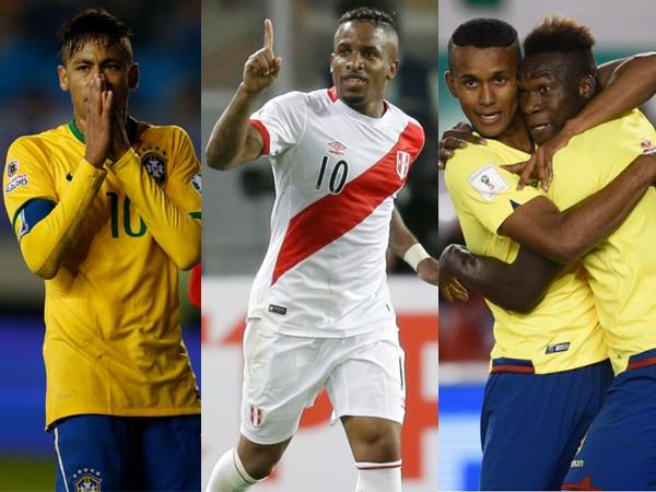 Colombia es 7° terminadas las 4 primeras fechas de eliminatorias