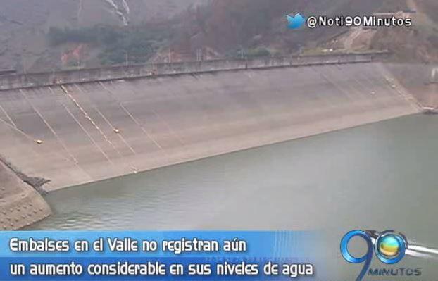 Embalses de la región registran leve aumento en el nivel de agua