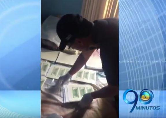 CTI desmanteló red de falsificadores de dólares al oeste de Cali