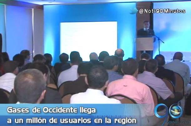 Gases de Occidente llegó a un millón de usuarios en la región