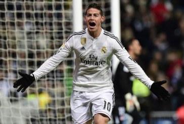 James Rodríguez causó locura entre hinchas del Real Madrid en su sede deportiva