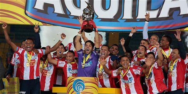 A pesar de perder, Junior se coronó campeón de al Copa Águila 2015