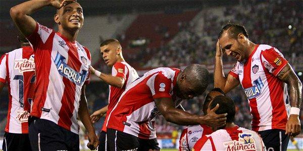 Junior tomó ventaja en la final de la Copa Águila tras vencer a Santa Fe